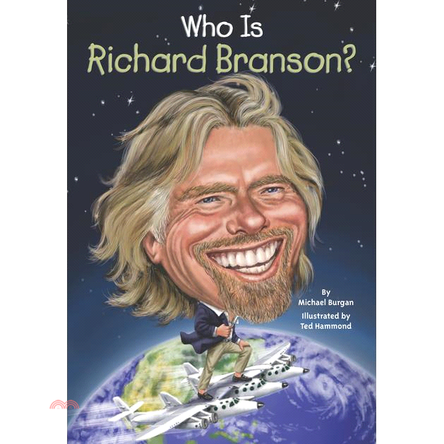 Who Is Richard Branson?【三民網路書店】[75折]