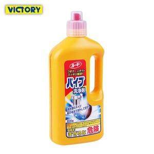 【YOLE悠樂居】日本排水口除臭去汙水管道分解清潔劑800ml(3罐)