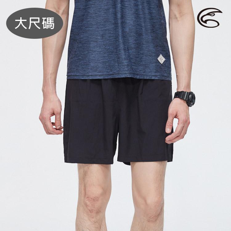 ADISI 男慢跑短褲AP2011098-1 (3XL) 大尺碼 / 城市綠洲 (單件式、輕薄、快乾、透氣)