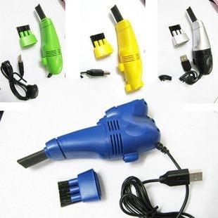 USB迷你吸塵器 電腦吸塵器/ 附LED燈