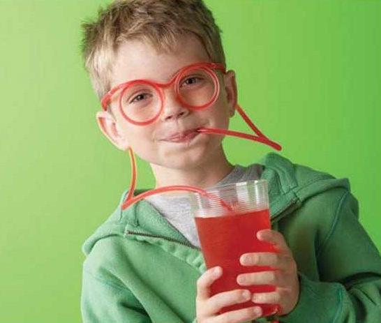 瘋狂DIY吸管 創意搞怪眼鏡吸管 整人玩具