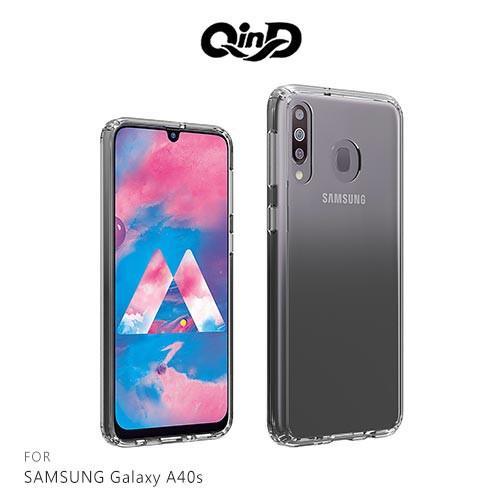 QinD SAMSUNG Galaxy A40s 雙料保護套