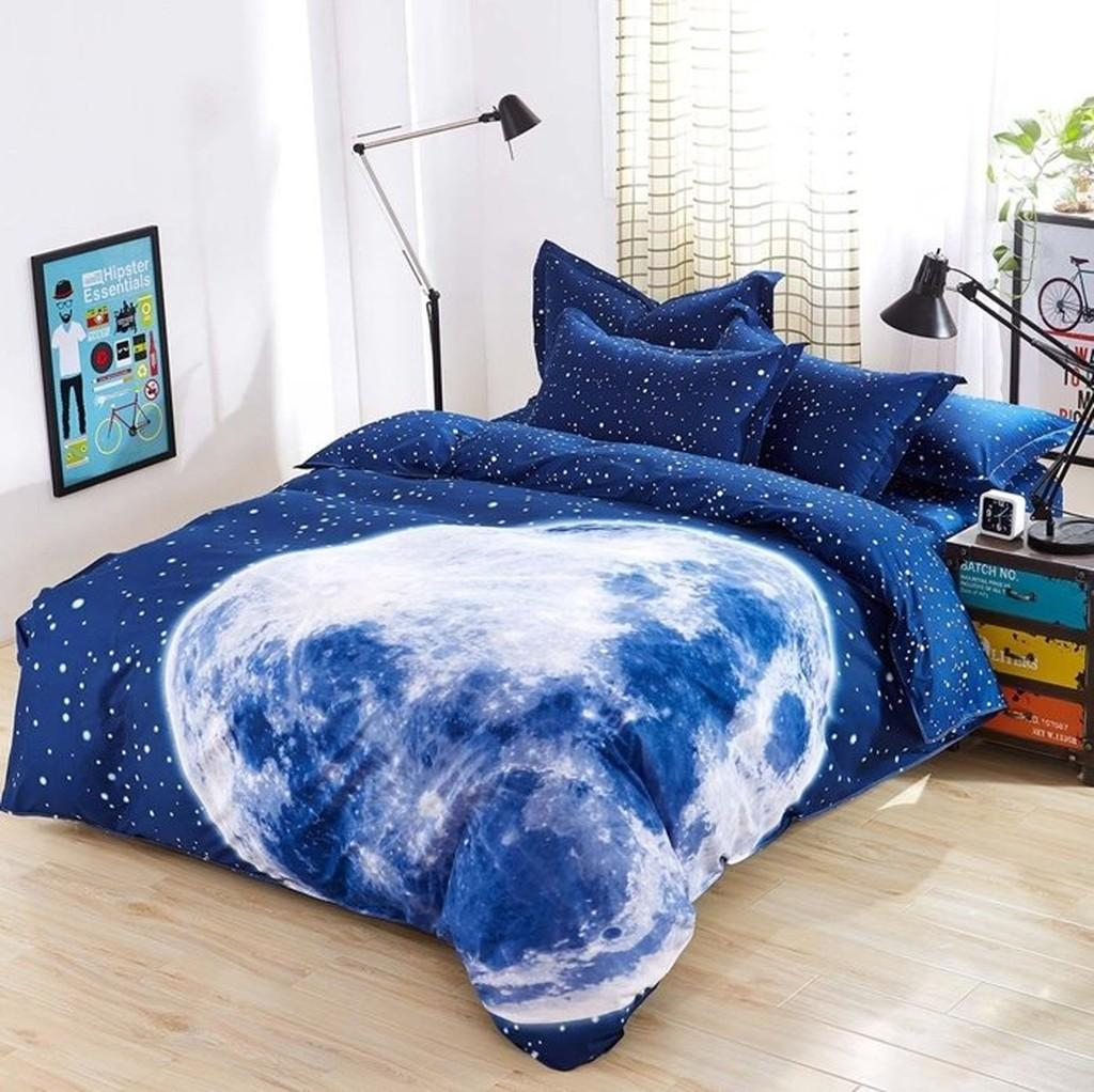 高質感天鵝絲絨加大兩用被床包四件套/多款(B0678-B0701)-4PMA