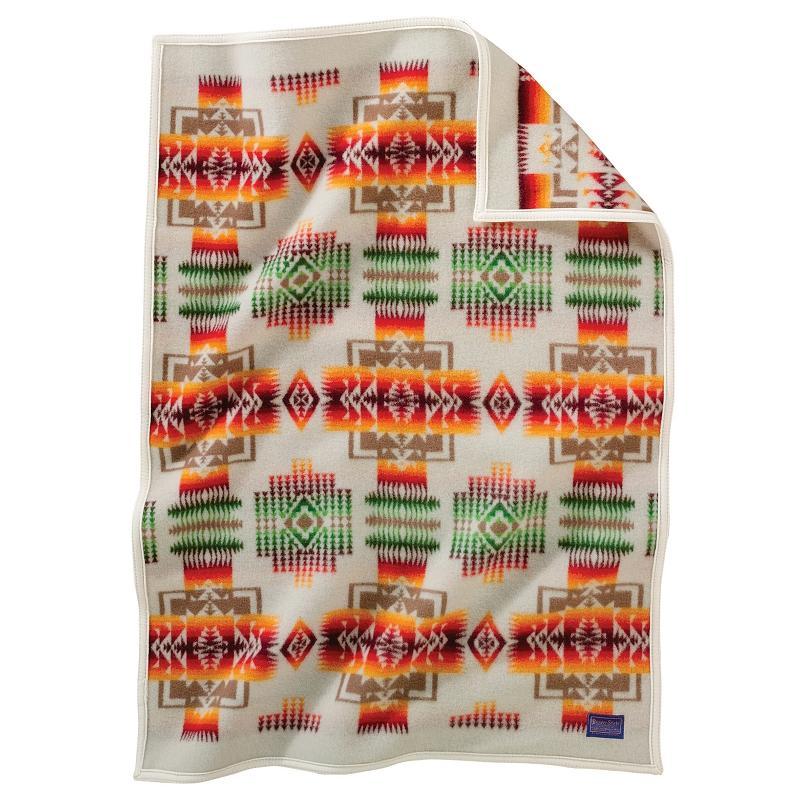 兒童毛毯- 約瑟夫酋長系列(象牙白)