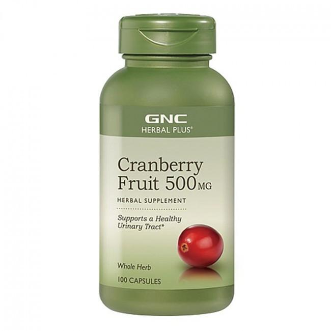 GNC健安喜 蔓越莓膠囊 1瓶100顆