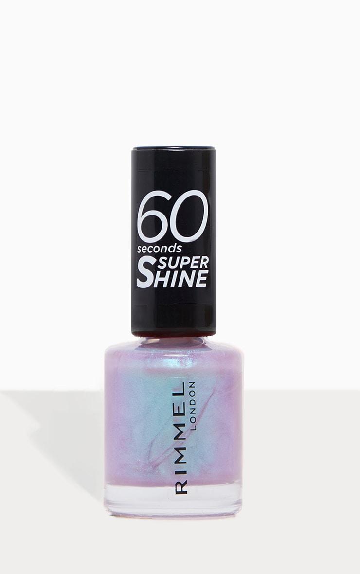 Rimmel 60 Seconds Super Shine Summer Collection Nail Polish Mermaid Fin