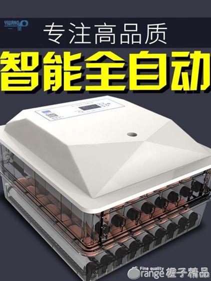 孵化器孵化機孵蛋器家用型全自動小型迷你水床孵化箱智慧小雞一望