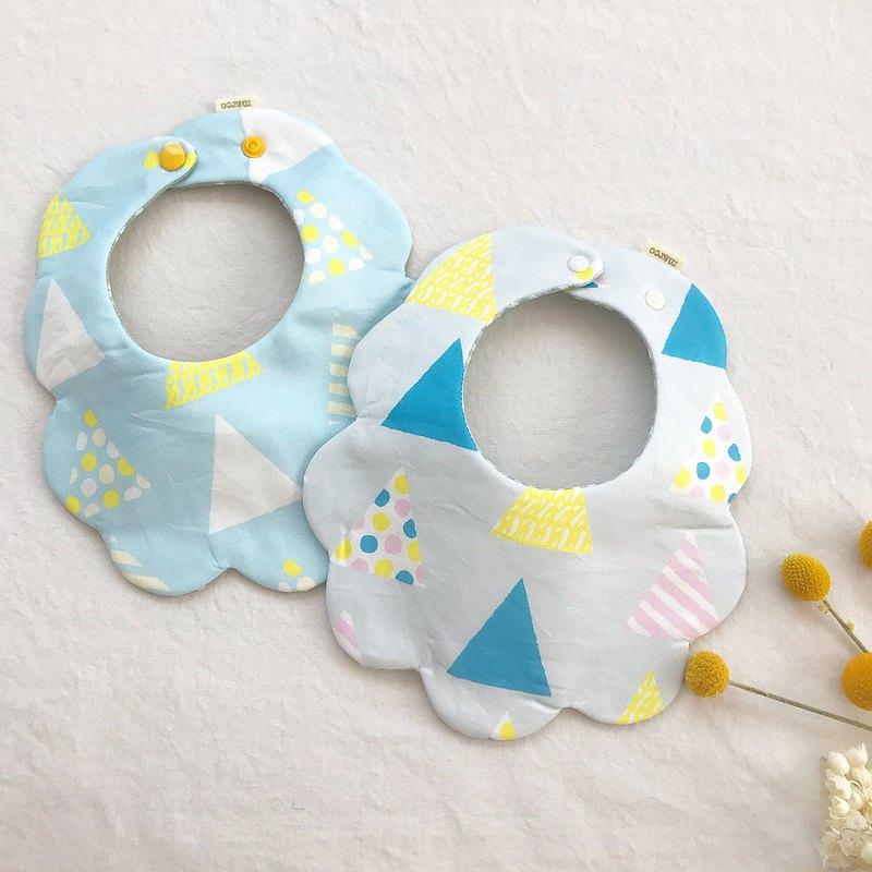 寶寶口水巾 圍兜-三角形