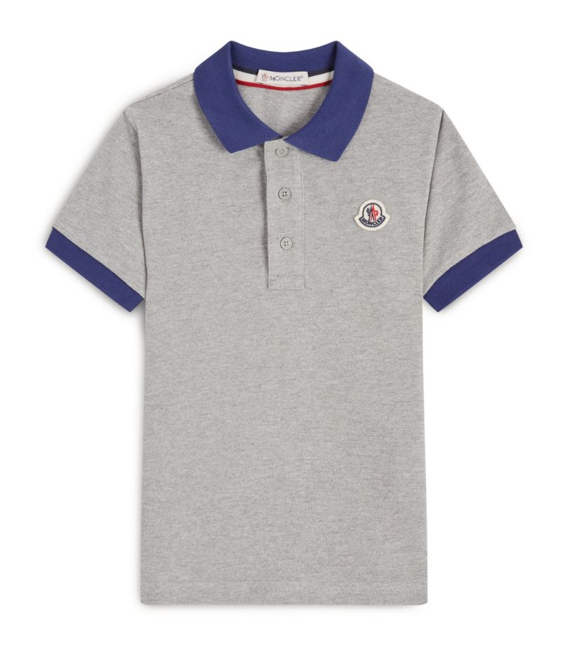Moncler Enfant Cotton Polo Shirt (12-14 Years)