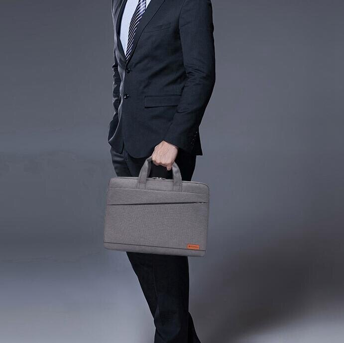 筆電包 戴爾華碩蘋果宏基14/15.6寸17寸男女單肩包手提商務筆記本電腦包