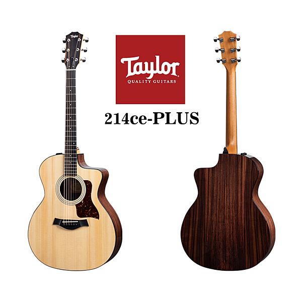 小叮噹的店 - Taylor 214ce-PLUS 雲杉木 面單 電木吉他 泰勒吉他 2系