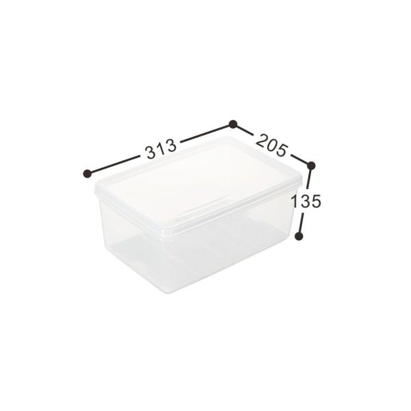 【聯府】名廚長型保鮮盒3號  LF03