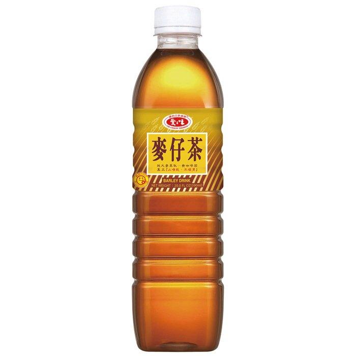 愛之味 麥仔茶 590ml (4入)/組【康鄰超市】