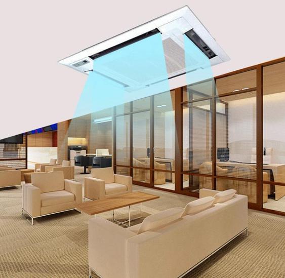 擋風板中央空調導風板天花機風向板罩遮擋板防直吹吸頂機通用  夏洛特居家名品