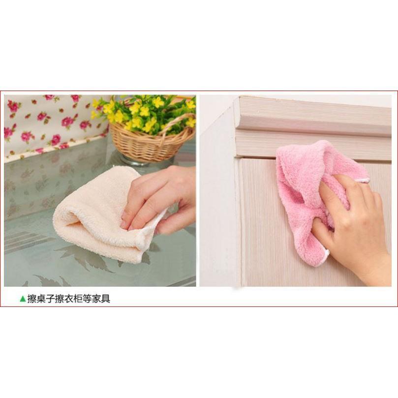 不沾油洗碗抹布超柔軟 居家清潔 抹布  超細緻 款式多樣 不挑色出貨