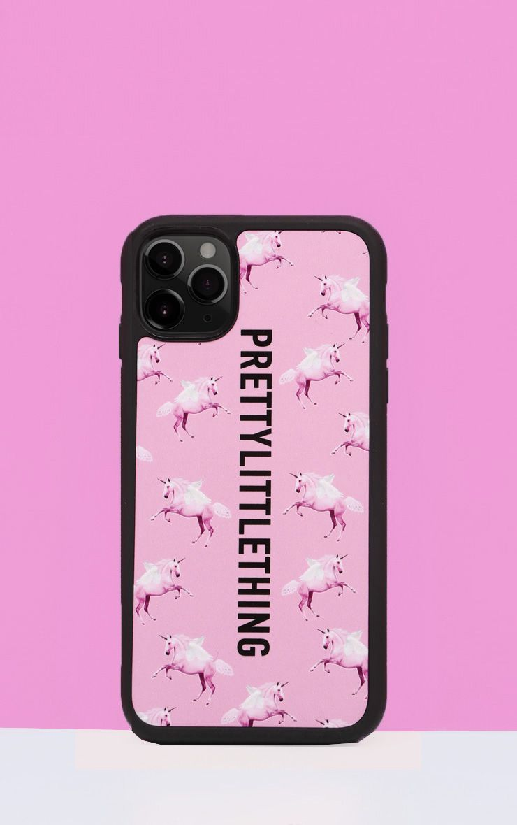 PRETTYLITTLETHING Unicorn Pink iPhone 11 Pro Case