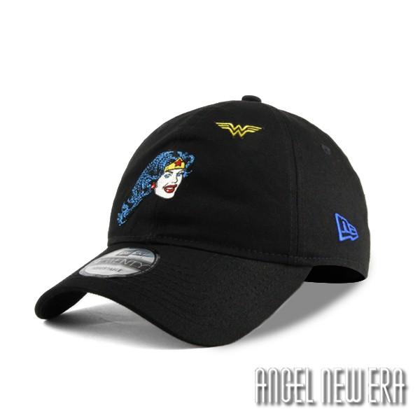 【NEW ERA】聯名款 DC 神力女超人 頭像 經典黑 老帽 軟版 9TWENTY【ANGEL NEW ERA】