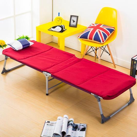 折疊床單人床簡易床辦公室午休床戶外沙灘行軍床醫院陪護小床 夏洛特居家名品