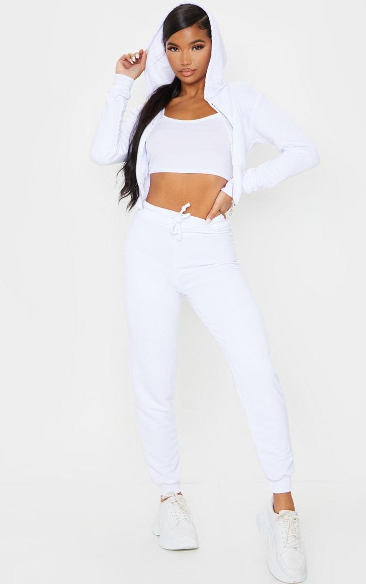 White Ultimate Sweat Track Pants