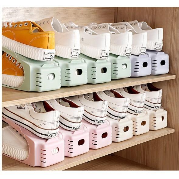 免運 鞋架整理家用置物架 省空間可調節雙層鞋托 宿舍鞋櫃鞋子收納神器