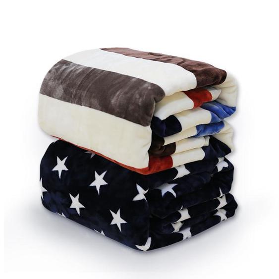 毛毯被子薄款夏季法蘭絨空調毯單人毛巾珊瑚絨床單夏天午睡小毯子 夏洛特居家名品