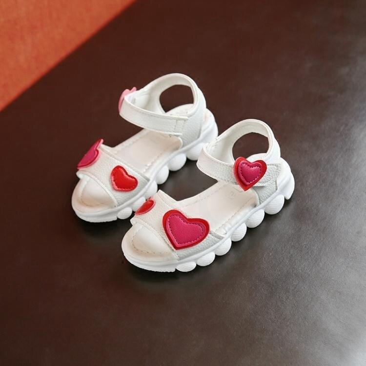 女童涼鞋 夏季新款兒童韓版公主鞋中大童鞋小女孩寶寶涼拖鞋潮
