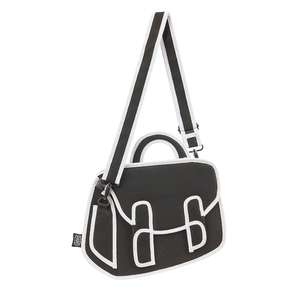 JumpFromPaper 2D包 黑色邱比包 肩背包 手提包