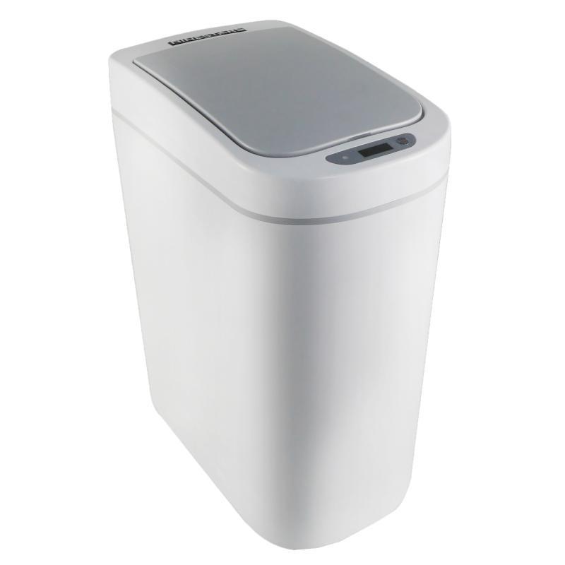 防潑水感應垃圾桶DZT-7-2S/二入