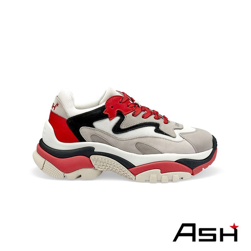 ASH ADDICT 復古增高老爹鞋 紅色