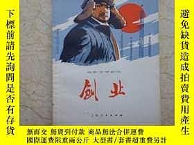 二手書博民逛書店罕見電影文學劇本:創業(76年1版1印,帶毛主席對影片的批示,非