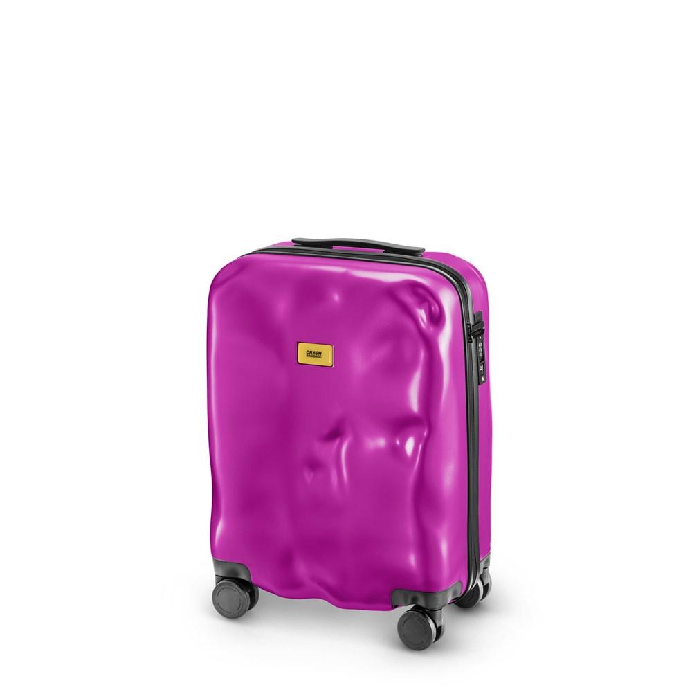 Crash Baggage New Icon 登機箱20吋-時尚桃紅