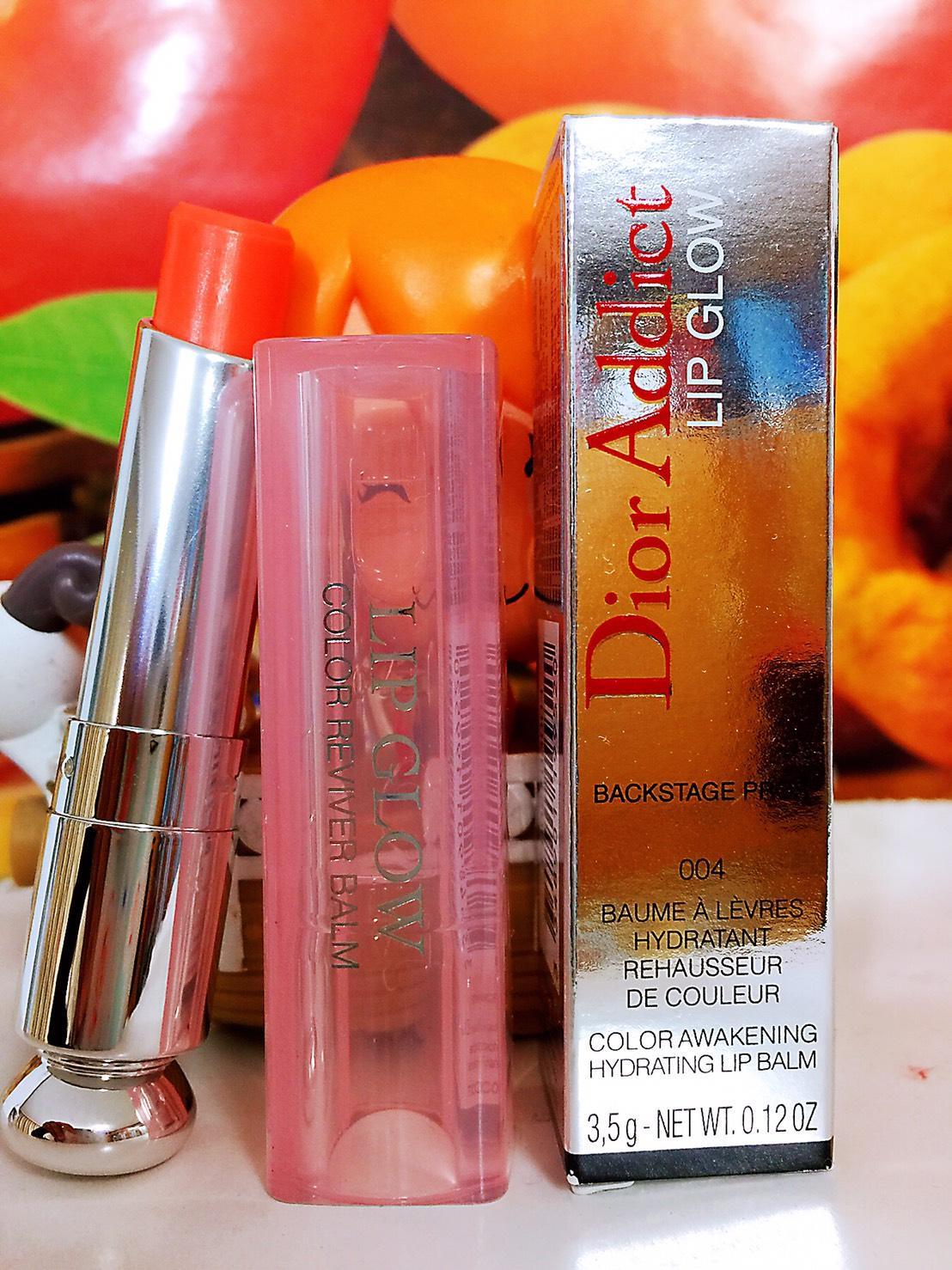 Dior 迪奧 癮誘粉漾潤唇膏 (色號:004) 3.5g 全新正貨盒裝百貨專櫃正貨