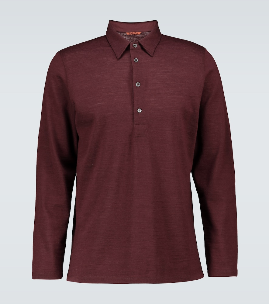 Mezolera Tonel knitted polo shirt