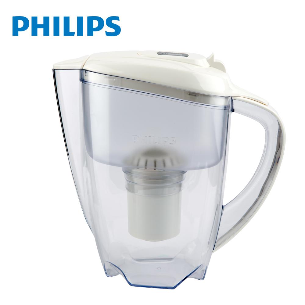 PHILIPS 飛利浦 超濾帶計時器3.5L濾水壺(AWP2920)-白