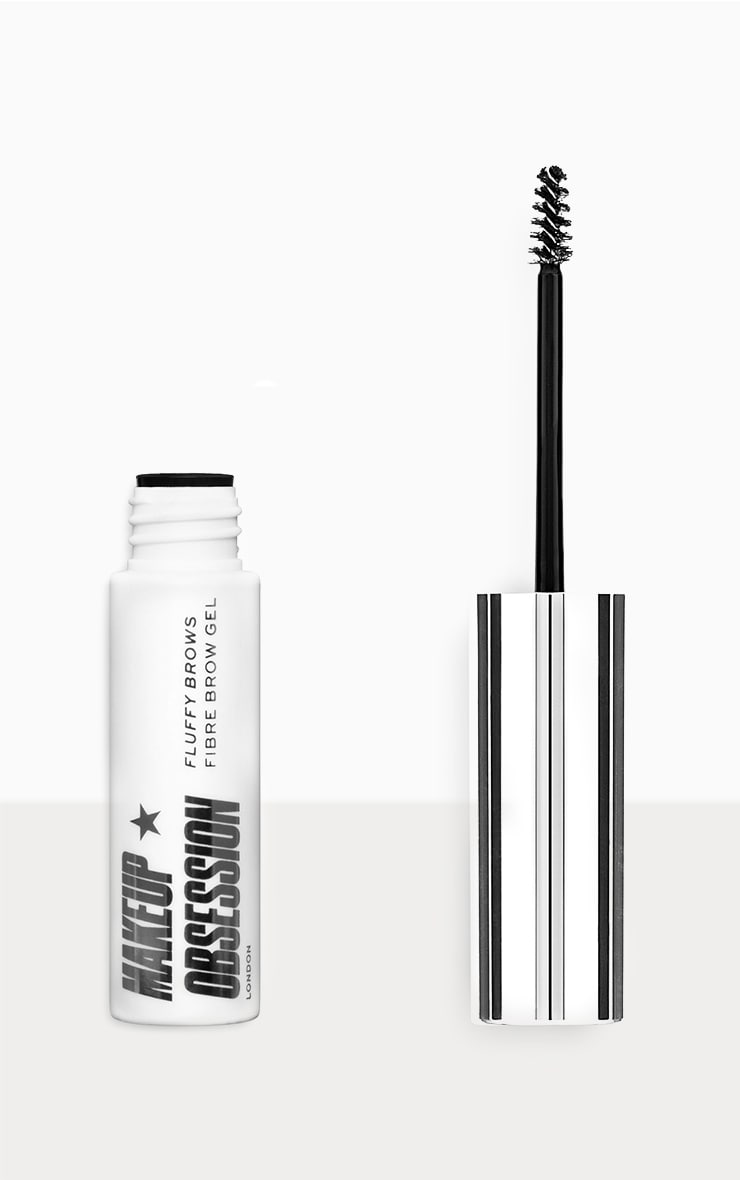 Makeup Obsession Fluffy Brow Fibre Brow Gel Dark Brown