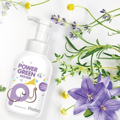【博寶兒】 Power Green 微米泡泡洗手幕絲350ml ( 藍風鈴香氛 )