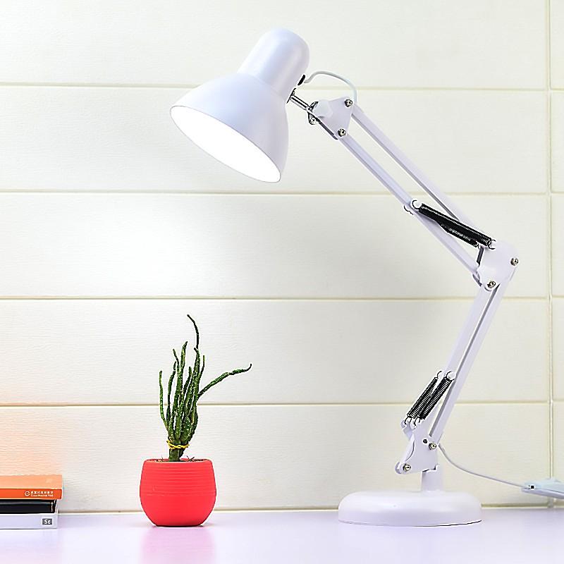 LED臺燈護眼書桌學生寫字學習專用宿舍充電插電兩用臥室床頭工作