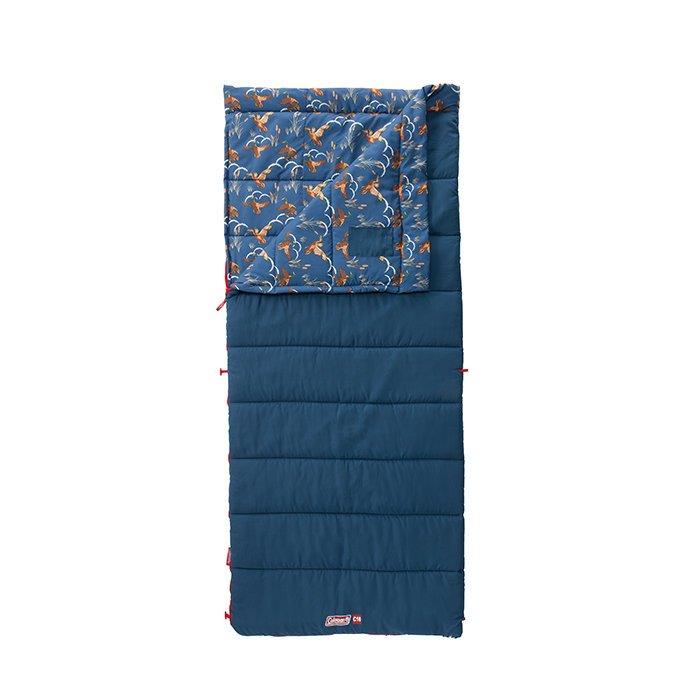 [ Coleman ] COZY II 海軍藍睡袋 C10 / 可放在洗衣機水洗 / 公司貨 CM-34773