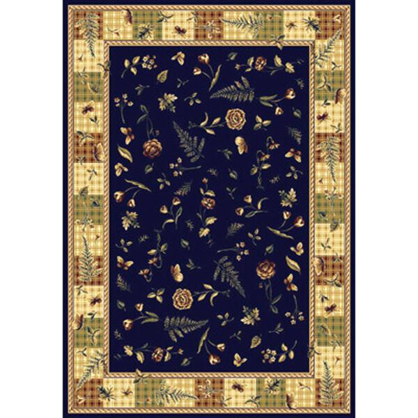 范登伯格 芭比人造絲質地毯-童話故事(藍)-160x230cm