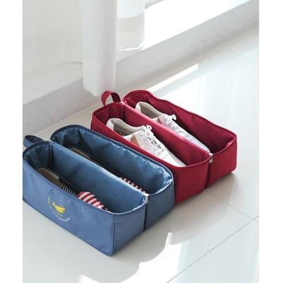 DF Queenin - 韓版旅行鞋子收納包-共3色