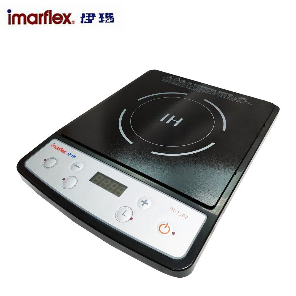 《開學慶》【伊瑪 x發現者】IH智慧電磁爐+平煎鍋IH-1302_GPL3000DFP