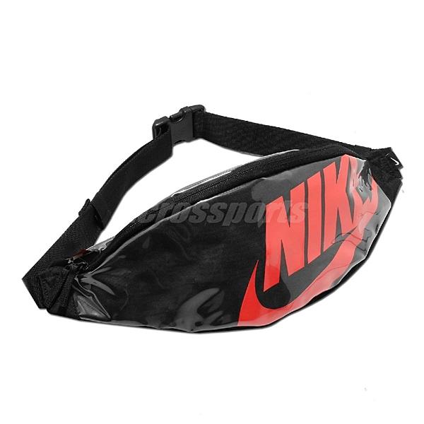 Nike 腰包 Heritage Hip Pack 黑 紅 男女款 斜背包 運動休閒 【ACS】 CK7914-010