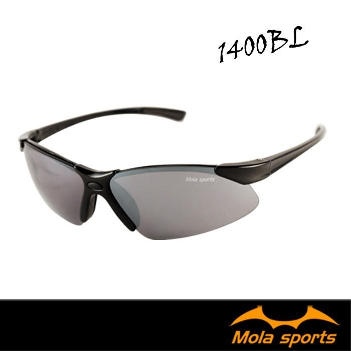 mola摩拉運動太陽眼鏡 超輕量23g uv400 男女 小到一般臉 1400bl-跑步/高爾夫/戶