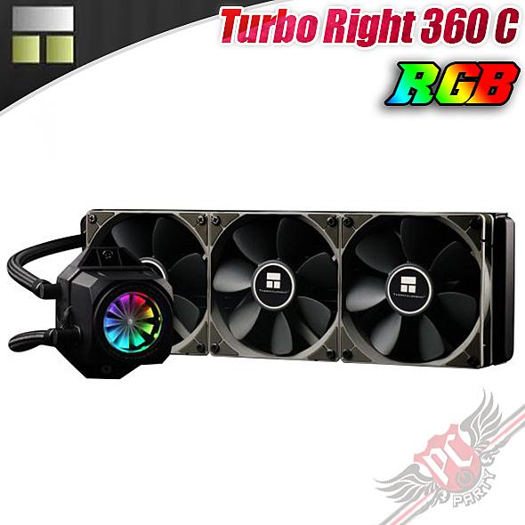 [ PC PARTY ] 利民 Thermalright Turbo Right 360 C RGB 一體式水冷散熱器