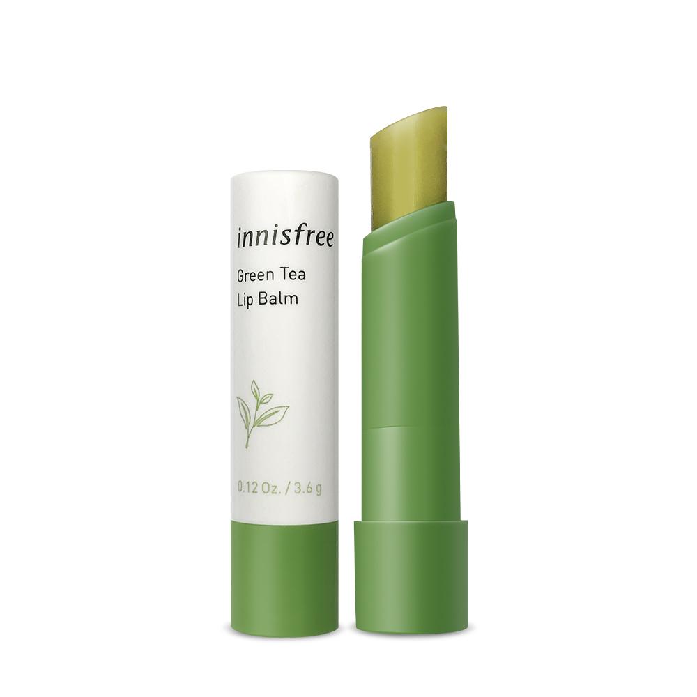 innisfree 綠茶保溼護唇膏