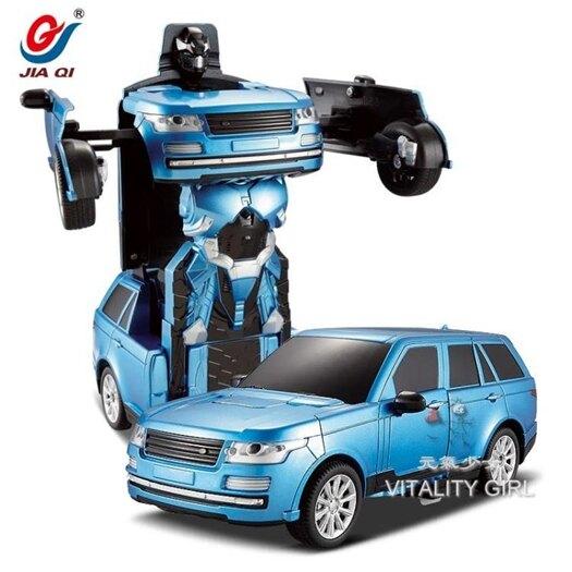 變形遙控汽車聲控感應金剛5大黃蜂充電動機器人TW【快速出貨】