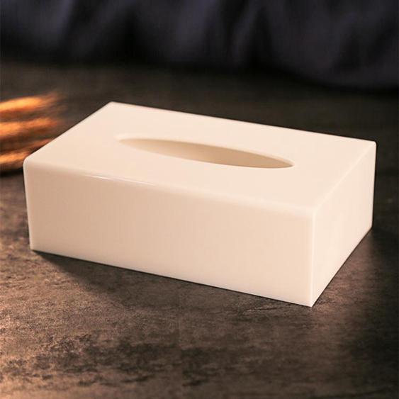 紙巾盒-壓克力加厚紙巾盒酒店賓館ktv抽紙盒塑料餐巾紙盒紙抽盒定制logo-