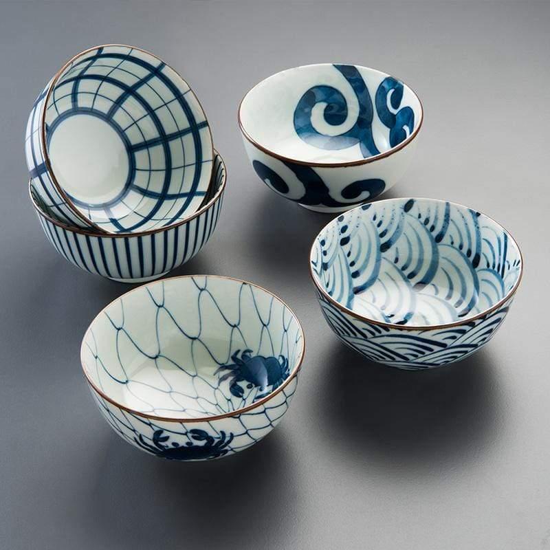 職人手繪系列 五件式湯碗