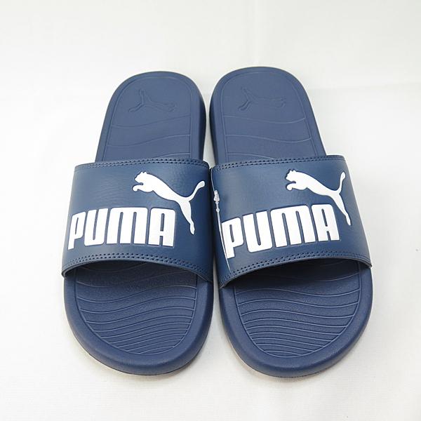 PUMA POPCAT 20 海綿拖鞋 37227903 藍 男款【iSport愛運動】