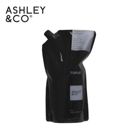 ASHLEY&CO 珍珠鸚鵡 洗手沐浴露 補充袋 1000ml